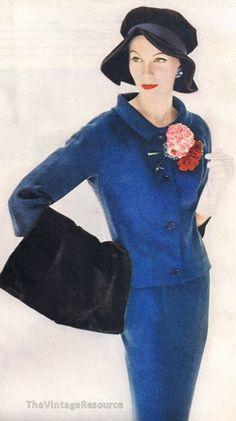 Stunning Larry Aldrich Suit - 1956