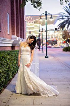 Bridal portrait -  Kristen Weaver Photography