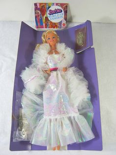 Vintage Crystal Barbie Doll 1983 Boxed by LavenderGardenCottag