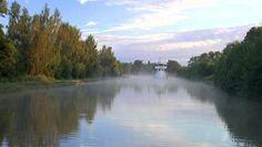 Gota Canal, Sweden (My great g'ma traveled the Gota Canal) Fleet Of Ships, Niagara Falls, Stockholm, Sweden, 19th Century, Wanderlust, Journey, River, Adventure