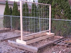 2011 Garden Trellis Design For My Raised Beds
