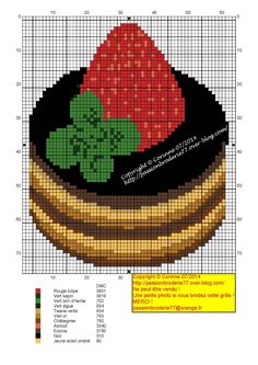 . de X-taula, cuina...  Gateau fraise