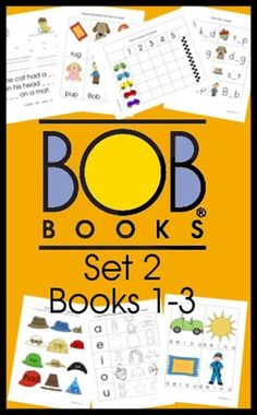 BOB Books Set 2 Books 1-3 Free Printable