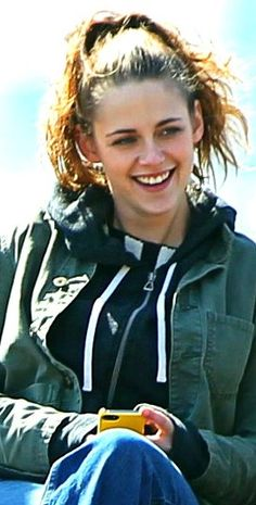 Kristen Stewart on set of Still Alice, 3/14/14