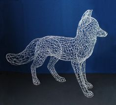 Fil de vie taille Fox Sculpture