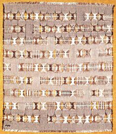 Anni Albers was a pioneering textile artist and printmaker who studied at the Bauhaus and went on to produce innovative and award winning textiles and art. Anni Albers, Josef Albers, Loom Weaving, Tapestry Weaving, Textile Patterns, Textile Design, Bauhaus Textiles, Black Mountain College, Layered Weave
