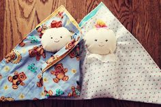 BeccaMarie Designs: Swaddle Baby Tutorial - I would love to learn how to make one of these little dollies.