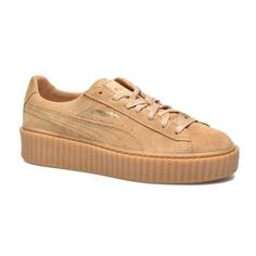 PUMA WNS Suede Creepers (8.805 RUB) ❤ liked on Polyvore featuring shoes