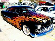 Flamin' hot!!  Reverse flames!