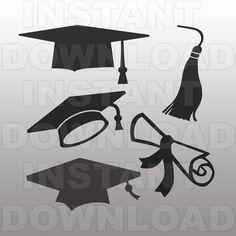 Graduation SVG FileDiploma SVG FileGraduate SVGCutting by sammo