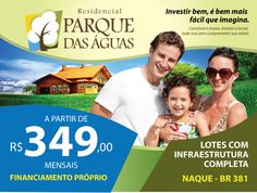 Panfleto  Campanha - Parque das Águas