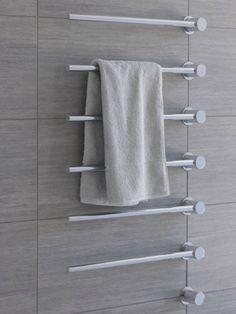 1000 images about bathroom beauties hotlooks on pinterest heated towel ra - Seche serviette bricoman ...