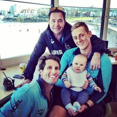 Kerrbox, Maxi, Harries and new recruit Billy (Harries son)