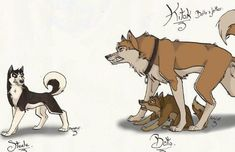 Over Protective Mom Animal Sketches, Animal Drawings, Anime Wolf Zeichnung, Balto And Jenna, Bambi Characters, Cute Wolf Drawings, Anime Wolf Drawing, Cartoon Wolf, Wolf Sketch