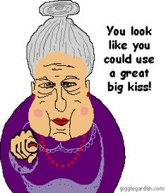 funny old people photo: Funny Old People a_aaa-. Funny Old People, Good Morning Girls, Big Kiss, Cute Notes, Picture Gifts, Just For Fun, Getting Old, Make You Smile, Animated Gif