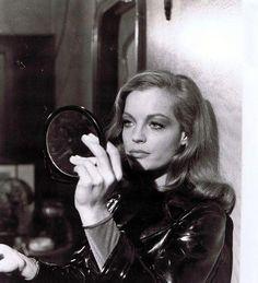 "Romy Schneider as Lily in ""Max et les ferrailleurs"" (dir. C. Sautete; 1970)"