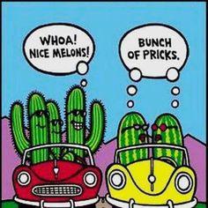 Dirty+Joke+Cartoons | Funny Jokes and Pics | Bunch or pricks lol - Funny Jokes and Pics