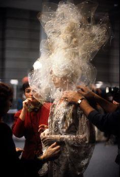 Emanuel Ungaro Haute Couture S/S 1994 photographed byBruno Rinaldi