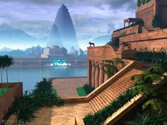 Neo-Babylonian Empire | The Hanging Gardens of Babylon- the amazing city of ancient times
