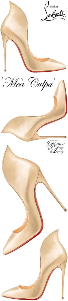 Brilliant Luxury by Emmy DE ♦ Christian Louboutin 'Mea Culpa'
