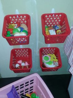 Organize my kid 39 s room on pinterest stuffed animal for Kitchen set for 3 year old