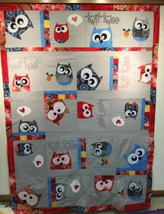 Free patterns for owl quilts. | Quilts For All | Pinterest | Owl ... : owl quilts patterns - Adamdwight.com