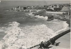 Una suggestiva immagine di corso Italia nel 1935 (Photo: Cresta)   #Genova #anni30