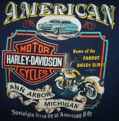 Harley Davidson Ann Arbor Michigan t-shirt
