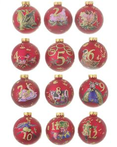 Christmas ornament w Crossstitch fabric decoration  Christmas