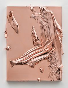 redruzdigitalsoup : Jason Martin Salazar, 2012 Copper 60 x 45 x 5 cm © the artist; Courtesy, Lisson Gallery, London