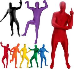 659832cc4a Zentai Costumes Plus size S-XXL Colorful Full Body Lycra Spandex Cosplay  Clothes Skin Suit Catsuit Halloween Costume