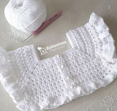 Best 12 Sweet crochet baby bib is adapted from a vintage pattern and perfect for a toddler. Almost too pretty to use as a bib but adorable to dress up an outfit. – Page 378302437446448376 – SkillOfKing. Crochet Baby Bibs, Crochet Baby Dress Pattern, Crochet Yoke, Crochet Baby Clothes, Crochet Girls, Crochet Flower Patterns, Baby Knitting Patterns, Baby Patterns, Crochet Stitches