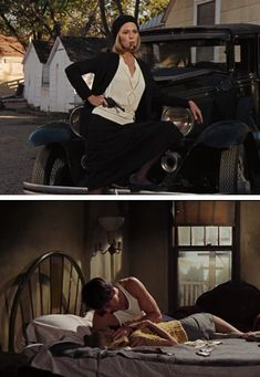 Faye Dunaway in Bonnie and Clyde. I wish I could rob her entire wardrobe from the film...leave Warren behind.