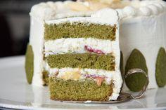 Teahouse cake #matcha
