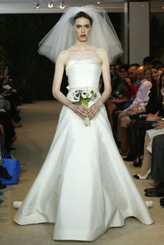 Spring 2014 Wedding Dresses by Carolina Herrera | OneWed