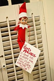 Elf on a shelf scavenger hunt