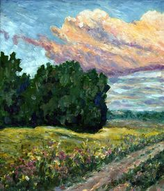 "Vincent van Gogh ""Road to Vzgliadnevo"""