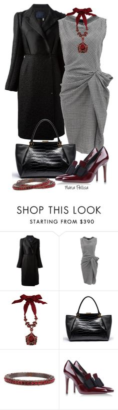 """""""Lanvin"""" by nuria-pellisa-salvado ❤ liked on Polyvore featuring Lanvin, WorkWear, Elegant and fashionset"""