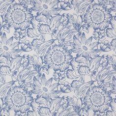 """Manuel Canovas Design Library """"Manon"""" Floral textile print"""
