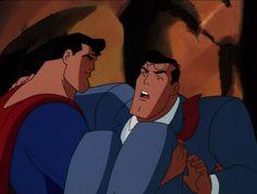 Superman saves Clark Kent