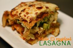Easy, delicious and healthy Potato and Eggplant Lasagna recipe from SparkRecipes. See our top-rated recipes for Potato and Eggplant Lasagna . Potato Lasagna, Veggie Lasagna, Healthy Potatoes, Sliced Potatoes, Eggplant Lasagna, Cauliflower Cheese, Recipe Details, Potato Recipes, Casserole Dishes