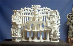 Fountain, 52x59x24, Ceramic, 1982-1995