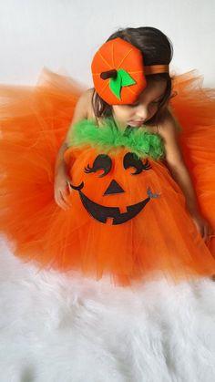 382da86a3f3b Girls Pumpkin Halloween Costume Pumpkin Halloween Costume Pumpkin Tutu  Dress Pumpkin Tutu Pumpkin Co