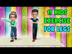 11 Fun Kids Exercises For Legs - Children Workout At Home - Wicfix Physical Activities For Kids, Physical Education Games, Summer Activities For Kids, Infant Activities, Games For Kids, Motor Activities, Health Education, Dementia Activities, Zumba Kids