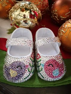 This adorable baby shoe would make the perfect gift for the little girl in your life! It's coming to our online store soon! Bling Baby Shoes, Cute Baby Shoes, Baby Bling, Rhinestone Shoes, It's Coming, Baby Keepsake, Baby Shower Gifts, Ballet Shoes, Little Girls