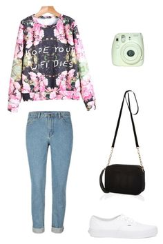 """""""Untitled #209"""" by boyoutfall ❤ liked on Polyvore featuring Vans, River Island, women's clothing, women's fashion, women, female, woman, misses and juniors"""