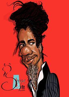 Luiz Melodia ( Músico - Interprete - Compositor) @caricaturistasdasouzaarte  Somos os Caricaturistas da SouzaArte W.App: (21) 9. 8494 - 0413 - Peça já a sua encomenda! www.souzaarte.com / #souzaarte