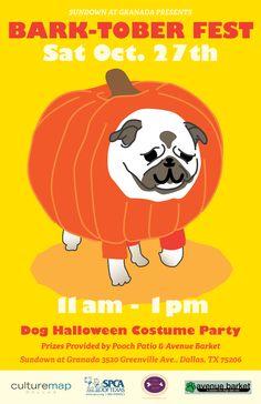 Doggie costume contest and brunch at Sundown at Granada