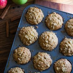 These Apple Cider Donut Muffins are easy to make and perfect for this time of season!