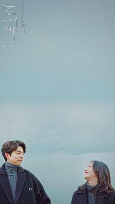 K Wallpaper, Couple Wallpaper, Wallpaper Backgrounds, Oppa Ya, Goblin The Lonely And Great God, Goblin Korean Drama, Goblin Art, Goblin Gong Yoo, Yoo Gong